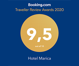 Booking.com Award Hotel Marica